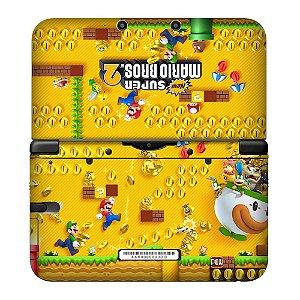 Adesivo Skin de Proteção 3ds XL Super Mario Bros 2