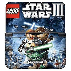 Adesivo Skin de Proteção 3ds Lego Star Wars