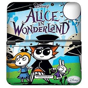 Adesivo Skin de Proteção 3ds XL Alice in Wonderland