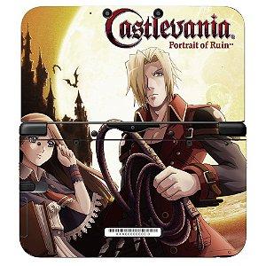 Adesivo Skin de Proteção 3ds XL Castlevania Portrait of Ruin