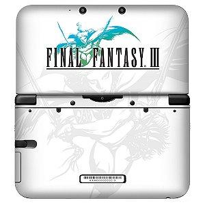 Adesivo Skin de Proteção 3ds XL Final Fantasy III