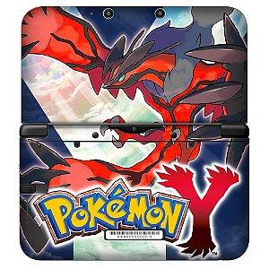 Adesivo Skin de Proteção 3ds XL Pokemon Mod 01