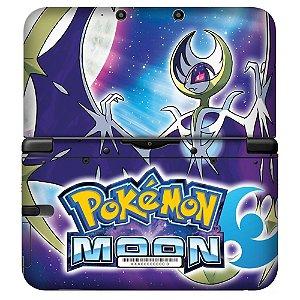 Adesivo Skin de Proteção 3ds XL Pokemon Moon