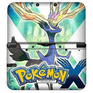Adesivo Skin de Proteção 3ds XL Pokemon Mod 02