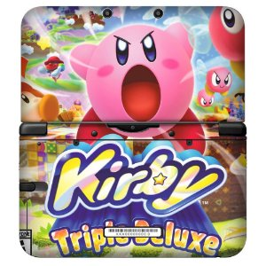 Adesivo Skin de Proteção 3ds XL Kirby Triplle Deluxe