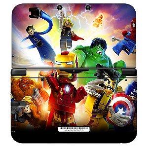 Adesivo Skin de Proteção 3ds XL Lego Super Heroes