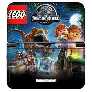 Adesivo Skin de Proteção 3ds XL Lego Jurassic World