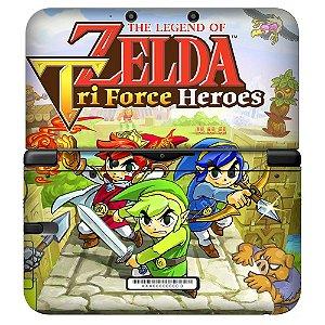 Adesivo Skin de Proteção 3ds XL The Legend of Zelda