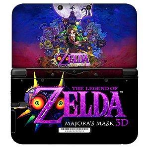 Adesivo Skin de Proteção 3ds XL The Legend of Zelda Mod 02