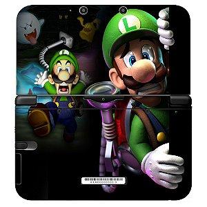 Adesivo Skin de Proteção 3ds XL Mario e Luigi Mod 02