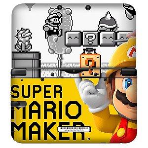 Adesivo Skin de Proteção 3ds XL Super Mario Maker