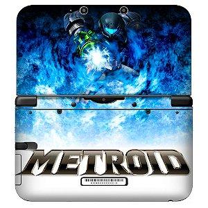 Adesivo Skin de Proteção 3ds XL Metroid Mod 01