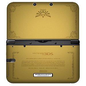 Adesivo Skin de Proteção 3ds XL The Legend of Zelda Mod 07