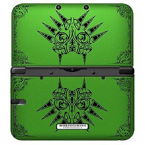 Adesivo Skin de Proteção 3ds XL The Legend of Zelda: Majora's Mask Green