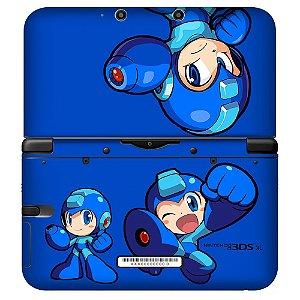 Adesivo Skin de Proteção 3ds XL Megaman Mod 01