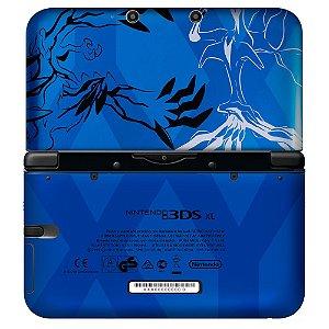 Adesivo Skin de Proteção 3ds XL Pokemon XY Blue
