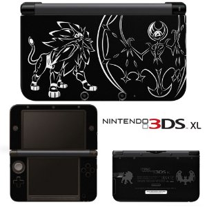 Adesivo Skin de Proteção 3ds XL Pokemon Solgaleo