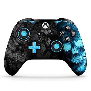 Adesivo de Controle Xbox One Gears Blue