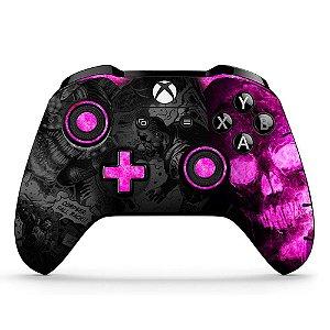 Adesivo de Controle Xbox One Gears Rosa