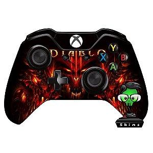 Adesivo de Controle Xbox One Diablo Mod 02