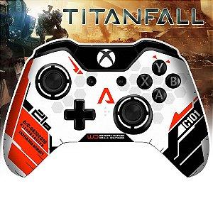 Adesivo de Controle Xbox One Titanfall Red