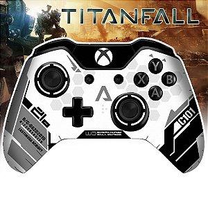 Adesivo de Controle Xbox One Titanfall Grey