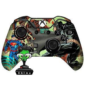 Adesivo de Controle Xbox One Batman vs Superman Mod 03