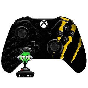 Adesivo de Controle Xbox One Monster Yellow