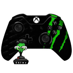Adesivo de Controle Xbox One Monster Green