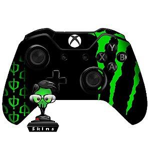 Adesivo de Controle Xbox One Monster Black