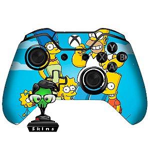 Sticker de Controle Xbox One The Simpsons Mod 01