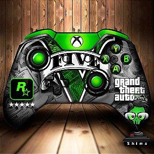 Sticker de Controle Xbox One GTA Mod 01