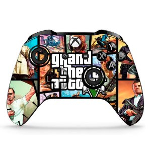 Sticker de Controle Xbox One GTA Mod 04