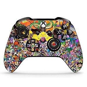 Sticker de Controle Xbox One Dragonball Mod 03
