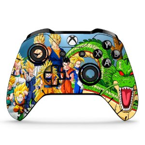 Sticker de Controle Xbox One Dragonball Mod 04