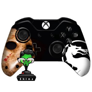 Sticker de Controle Xbox One Mortal Kombat Mod 01
