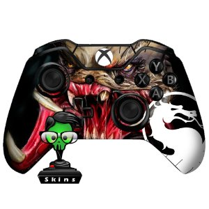 Sticker de Controle Xbox One Mortal Kombat Mod 02