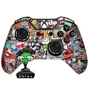 Sticker de Controle Xbox One Sticker Bomb Mod 01