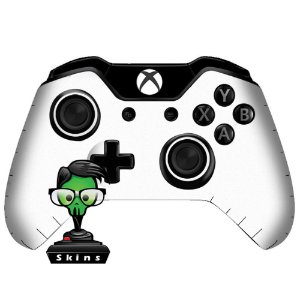Sticker de Controle Xbox One White Mod 01