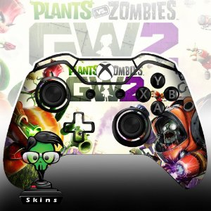 Sticker de Controle Xbox One Plants VS Zombies Mod 01