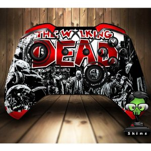 Sticker de Controle Xbox One The Walking Dead Mod 01
