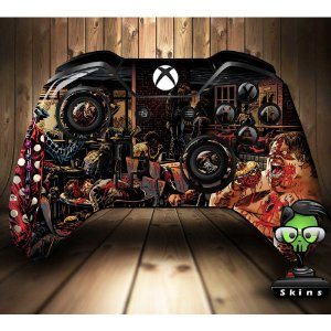 Sticker de Controle Xbox One The Walking Dead Mod 02