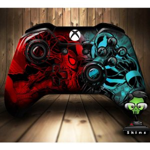 Sticker de Controle Xbox One Spiderman VS Venon