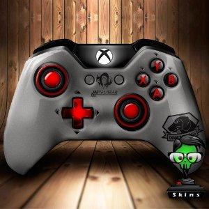 Sticker de Controle Xbox One Metal Gear Mod 01