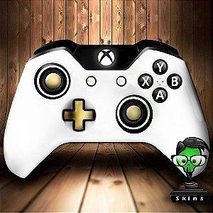Sticker de Controle Xbox One Branco Mod 01