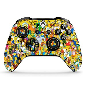Sticker de Controle Xbox One The Simpsons Mod 02