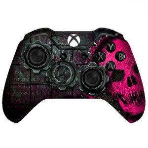 Sticker de Controle Xbox One Gears Of War Rosa