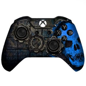 Sticker de Controle Xbox One Gears Of War Blue