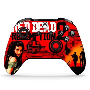 Sticker de Controle Xbox One Red Dead Redemption Mod 01