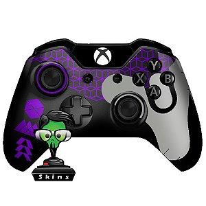 Sticker de Controle Xbox One Destiny Texture Roxo